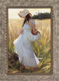 through fields of gold by maria boohtiyarova
