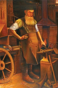 jewish blacksmith by eduard gurevich