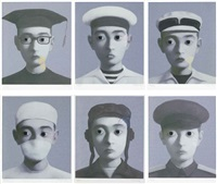 my hope (set of 6) by zhang xiaogang