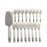 acorn cutlery (set of 17) by johan rohde