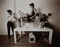 buffalo fashion, - work: academic art by leslie krims