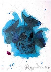vanité bleue by philippe pasqua