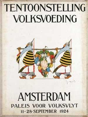 tentoonstelling volksvoeding amsterdam by joseph edward adolf jo spier