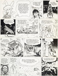 pl. 24 (from giuseppe bergmann) by milo manara