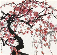 红梅 by han wu
