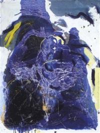 komposition in blau by klaus reif