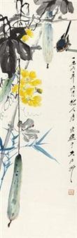 丝瓜小鸟 by tang yun