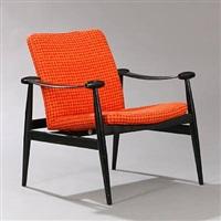 spade chair (model fd 241) by finn juhl