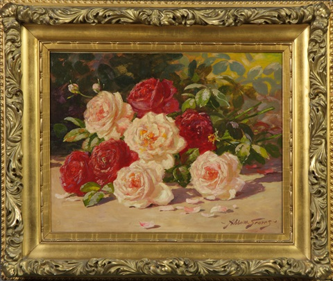 still life of roses by abbott fuller graves