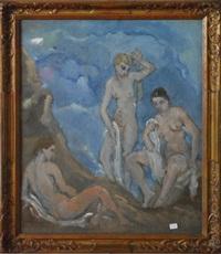 les 3 grâces au bain by giovanni leonardi
