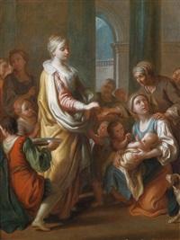 die heilige elisabeth verteilt almosen by pietro antonio rotari