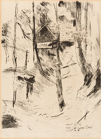 das landhaus from bei den corinthern st georg 2 works by lovis corinth