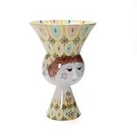 a colossal earthenware vase by bjørn wiinblad