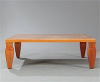 square coffee table by leon krier