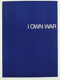 i own war, mir gehört krieg by william anastasi