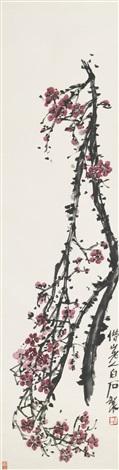 plum blossom by qi baishi
