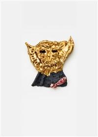 eix (goldmaske) by jonathan meese