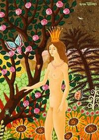 reine aux bois by alain thomas