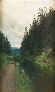 skogsbäck by alfred thörne