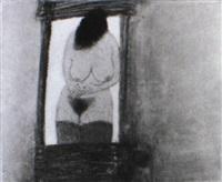 a la fenêtre d'une roulotte by marco richterich
