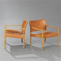 premiär-69 armchairs (pair) by per-olof scotte