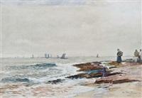 fife fisherfolk by william ewart lockhart