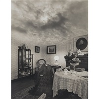 untitled cloud room by jerry uelsmann