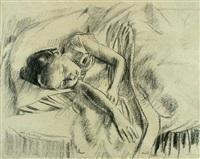 peach, the artist's daughter by robert sargent austin