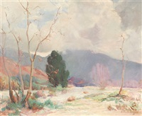 california desert landscape by nellie evelyn ziegler