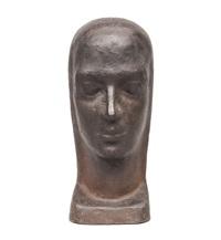 a head female portrait by karl hartung