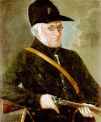porträt eines jägers by franz lippold