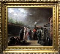 the train station by reginald machell
