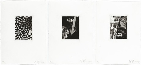 untitled 3 works by jasper johns