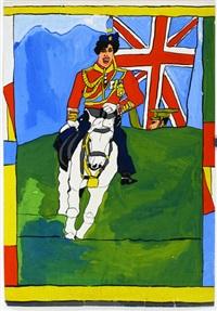 ohne titel (australischer kavalerist) by josef wittlich