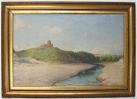 redcastle, the beauly firth, northern scotland by william samuel henry (sir) llewellyn