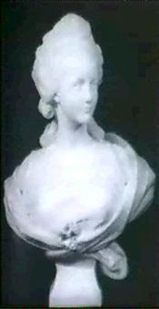 portrait bust by alexandre léonard