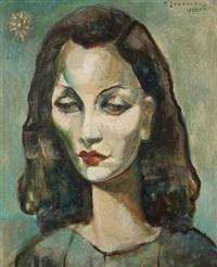 portrait d'une femme by paul joostens
