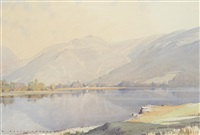morning over grasmere by william heaton cooper