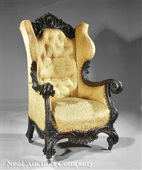 wing chair by s. karpen and brothers
