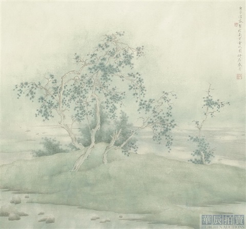landscape by xu xinrong