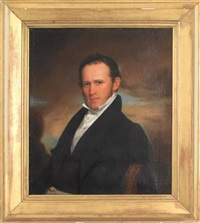 portrait of a gentleman by eliab metcalf