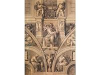 esaiasdetail der sixtinischen kapelle by heinrich leibnitz