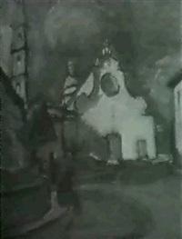 vor der kirche by otto freytag