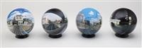 flat ball (set of 4) by daisuke samejima