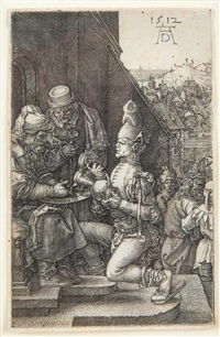 (nürnberg 1471 - 1528) kupferstich