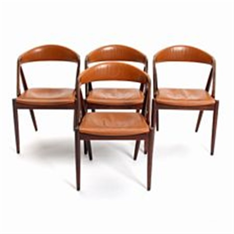 Four Brazilian Rosewood Chairs By Kai Kristiansen