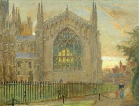 the lady chapel, ely cathedral by harry goodwin