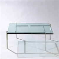pk-61 coffee table by poul kjaerholm