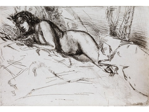 venus by james abbott mcneill whistler