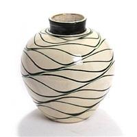 vase by herman august kähler